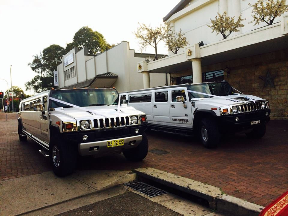 Sydney Wedding Hummer Limo