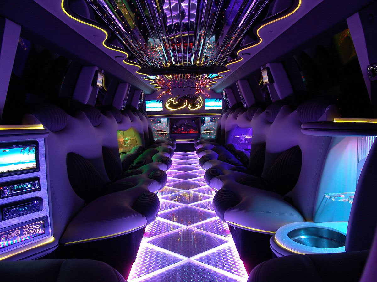 Birthdays party limos sydney hummer hire stretch hummer for Interieur limousine